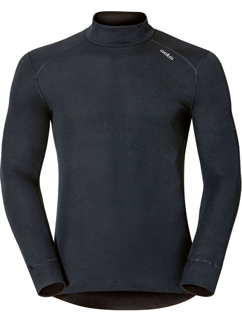 Odlo Warm Shirt L/S Turtle Neck Men black